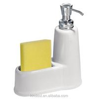 kitchen soap dispenser,white ceramic kitchen soap liquid dispenser bottle