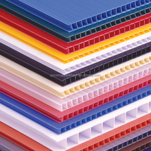 High Quality Extruded Polypropylene Co-polymer Twinwall Plastic Sheets