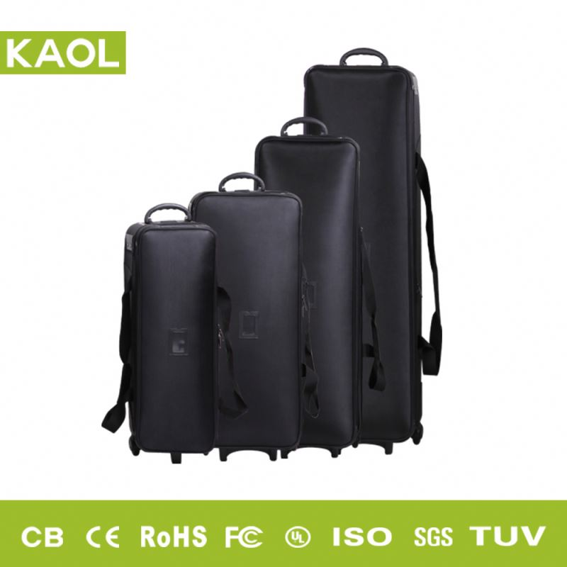 High quality portable canvas digital camera professional flash kit carrying bag