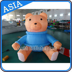 Customized Promotion Inflatable Cartoon Bear/Giant Inflatable Cartoon Characters