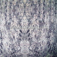 100% polyester printed ity chiffon fabric with spandex