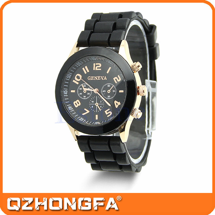 2015 Hot Selling Popular Customized Watch Silicone
