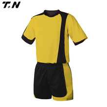 100% polyester digital printing soccer jersey