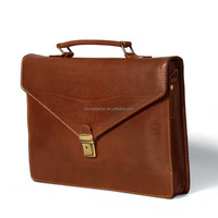 Briefcase laptop briefcases genuine leather hard bags