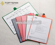 Plastic PVC Calender Holder File Folder For Meeting, Wholesale Colorful PVC Report File Folder For Student