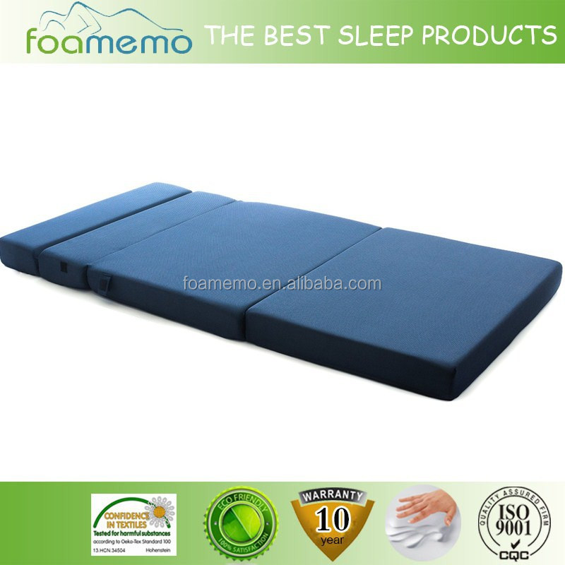 Blue sofa bed folding with Good quality with 3D meshi fabric cover - Jozy Mattress | Jozy.net