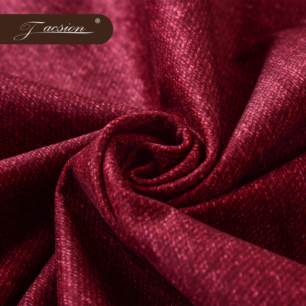 Home Textile Embossed Upholstery Velvet Furniture Sofa Fabric
