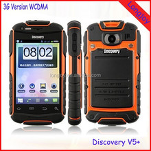 Factory Direct Discovery V5+ 3G WCDMA 850/2100MHz Rugged Waterproof Dual SIM Dual Standby Smart Phone Best Price