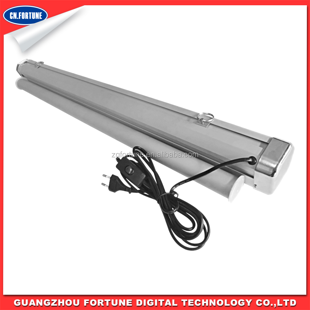 Competitive Price good quality Vertical Electric Aluminum roll up banner stand for advertising