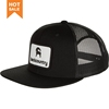 Multifunctional 6 panel flat bill fitted snapback cap