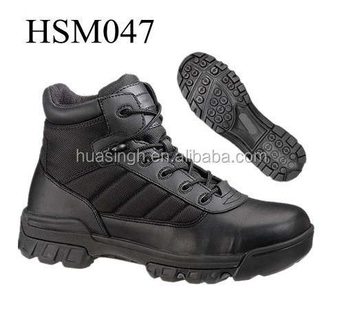 Europe design traction sole BDUS combat military footwear name brand