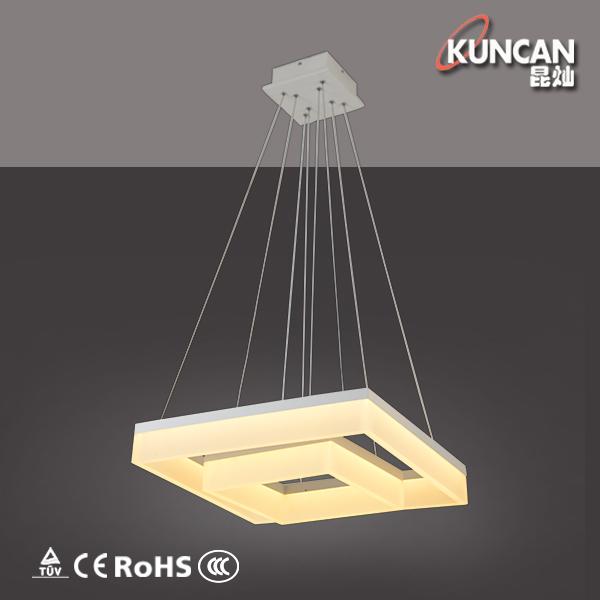 2015 Hotsell Aluminium Ring Acrylic Large Modern Led Pendant Lamp ...