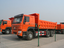 30 Ton Tri Axles Tipper HYVA Hydraulic Pump Hoist Truck Sale