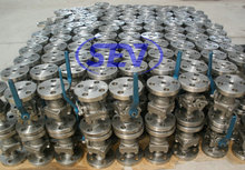 Stainless Steel Ball Valve Metal Seated