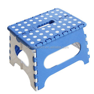 convenient plastic fold stool foldable step stool