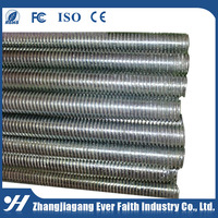 China Alibaba Supplier Hot Product Wholesale Stainless Steel Hollow Threaded Rod