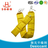 container dry desiccant bag for reducing air humidity