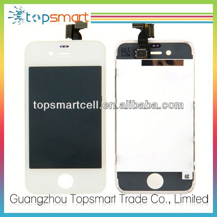 Hot sell for iphone 4 housing front digitizer+lcd + back co
