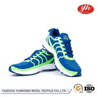 Customized Low Price Widely Used Sport Running Flyknit Vamp Shoe