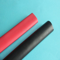 KOSOO 3:1 Red dual wall 3/4 inch polyolefin heat shrinkable tubing in china