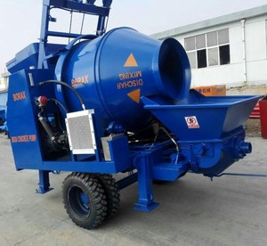 China High quality JBS40 trailer concrete mixer pump for sale