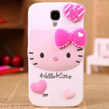 alibaba china supplier mobile phone accessory hello kitty silicone case for iphone 4