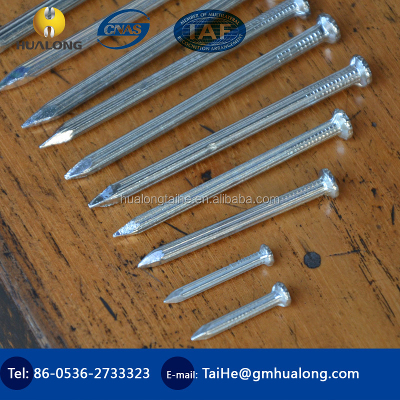 Made in China galvanized concrete nail/Hardened Steel Concrete Nails/Concrete nail