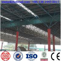 Large span space frame/steel structure roofing