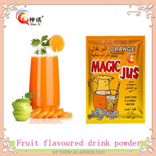 Wholesale concentrate flavoured fruits drink powder in bulk or sachets packing