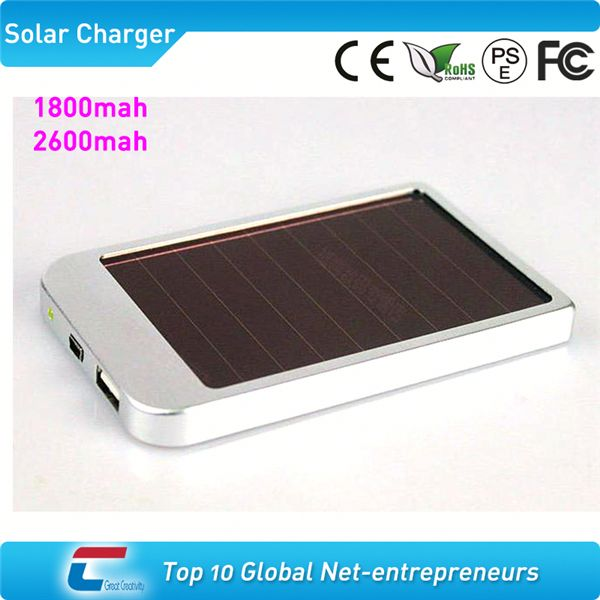 2600mah solar charger case for iphone