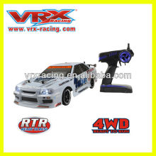1:10th electric drift version VRX racing brand car with light system.