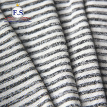 87/13 Poly/Rayon single jersey with horizontal stripe pattern for skirts dress pattern