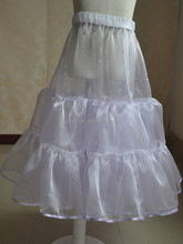 hot sale high quality cheap price petticoat of wedding girl dress/Wholesale Underskirt for bridal dress