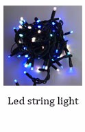 LED Icicle Lights Shooting Star