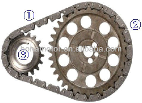 For CHEVROLET 4.3-B,N,Z 262 LB4, LU2 V6 87-96 timing chain kits