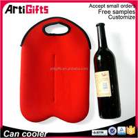 2016 Promotion neoprene wine bottle cooler