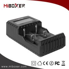 MiBoxer C2-3000 Full Automatically Standard Battery Charger with LCD Screen Charger for lithium Battery,18650