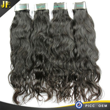 Fast DHL free for wholesale price 100% human hair weave