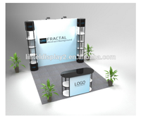10' Velcro pop up stand/ booth displays for wholesale