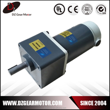 6D150-24GU-30S high torque 24v brushed dc gear motor 150w