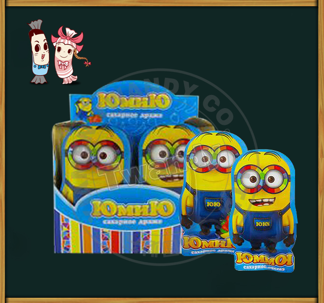 Minions packing press candy