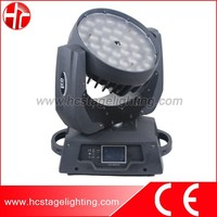 high power led stage lighting 36x15W RGBWA 5in1 led moving head wash zoom