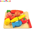wooden cutting fruit toys