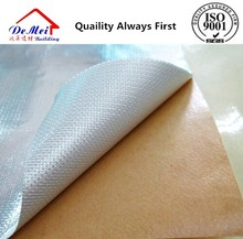 fiberglass cloth adhesive aluminum foil with fire retardant coating FR FR Insulation materials