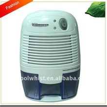 Mini small dehumidifier for restoration cabinet for bedroom or home with 100-240V