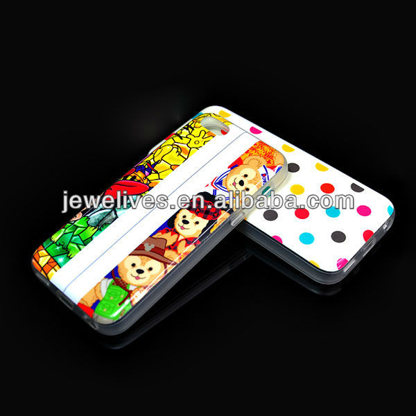 New arrival tpu jelly soft case cover for iPhone5