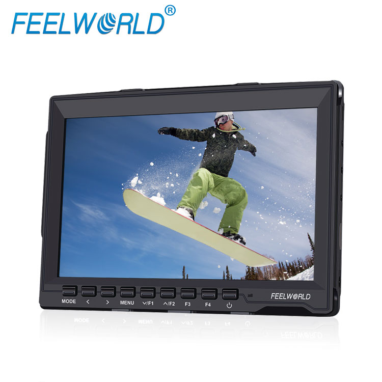 "Field <strong>monitor</strong> 7""lcd screen ips type 1280 800 resolution lightweight 400g Peaking Filter chinese dslr camera"