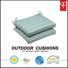 [LIVING] 100%polyester fabric seat cushion for bamboo chairs