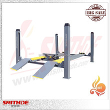 Yantai Smithde used 4 post car lift for sale 3.5T SMD35F4
