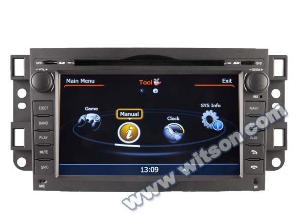 WITSON CHEVROLET EPICA 2006-2011 AUTO DVD WITH RAM 8GB FLASH BLUETOOTH STEERING WHEEL SUPPORT